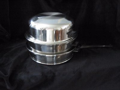 Lifetime T304Cc Stainless Steel Solar Cap 9 Inch Double Boiler With Dome Lid