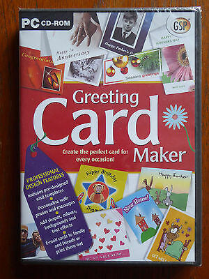 PC CD Rom - Greeting Card Maker
