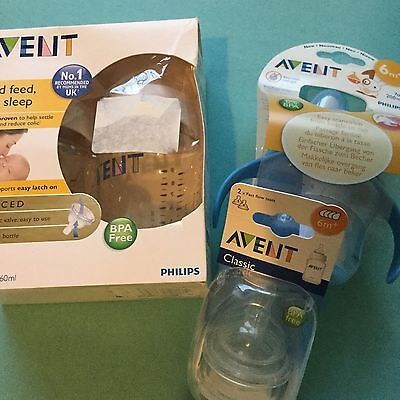Avent Classic Bottles New and teats