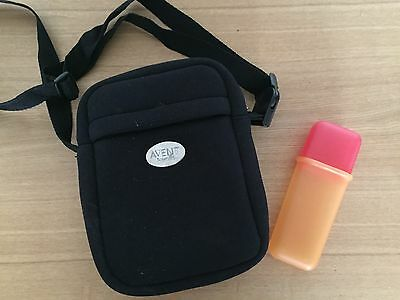 AVENT Black Thermabag & spoon box