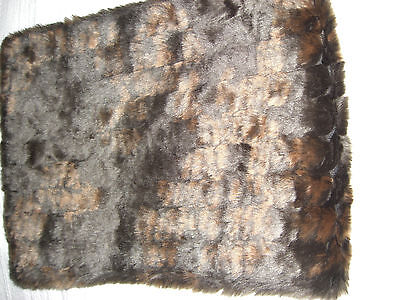 Vintage Faux Fur Collar By Dents. Great Neck Warmer.