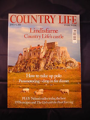 Country Life - July 9, 2014 - Lindisfarne - Polo - 1970 recipes