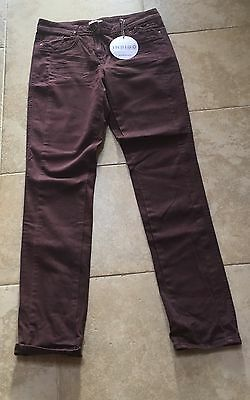 BNWT Trousers By Indigo At M&S Size 10 L