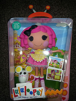 Lalaloopsy Large Doll Crumbs Sugar Cookie With Pet Mouse NEW