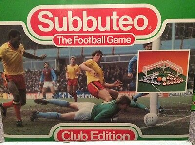 Subbuteo LW Set - Club Edition Complete and in VGC. Superb Set