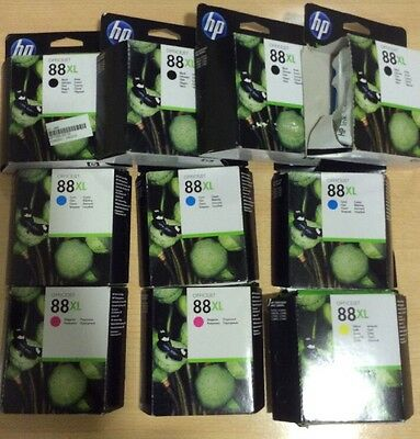 Lote cartuchos de tinta originales HP 88XL