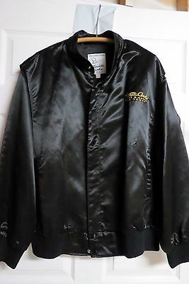 Monte Carlo Resort and Casino, Las Vegas Black Satin Jacket - Size XXL