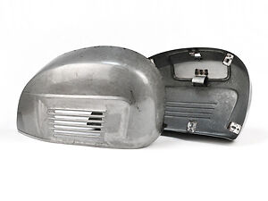 Oiled Steel Repro Pressed Side Panel Set to fit VESPA 125 & 150 SUPER