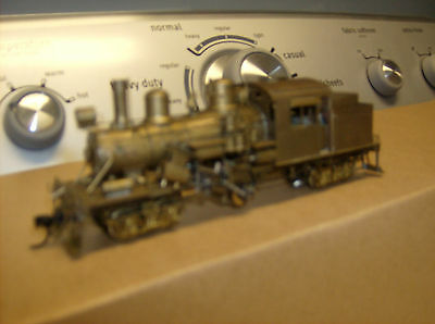 Ho Brass Locomotive By United Class C Climax Geared With Access.