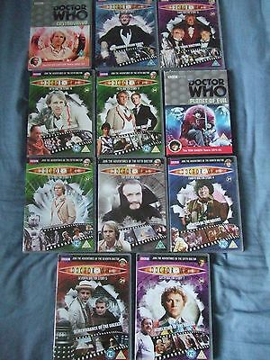 Doctor Who - DVD Collection. 11 DVD's, 3rd, 4th, 5th, 6th, 7th Doctors, Daleks