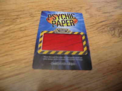 Doctor Who Battles In Time Phychic Paper Collectable New
