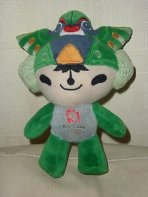 Orig.mascot    Olympic Games BEIJING 2008 - Green 21 cm / mint condition