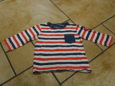 Next striped three quarter length sleeve top for 9-12 month old boy