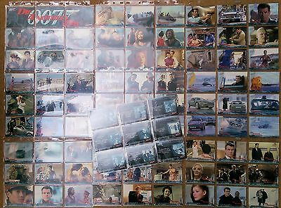 DIE ANOTHER DAY JAMES BOND Trade Cards Complete set 90 cards 2002