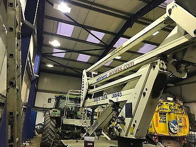 Skylift Cherry picker Suitable For 3.5 Ton Vehicle 2007 Nissan Cabstar