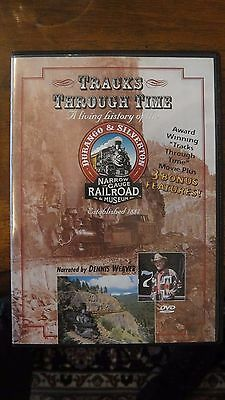 Tracks Through Time- Durango And Silverton  Railroad Dvd With Dennis Weaver