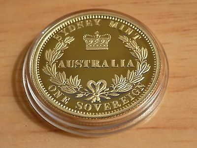 2005 Gold Proof Full Sovereign Coin Sydney Mint Coin 1