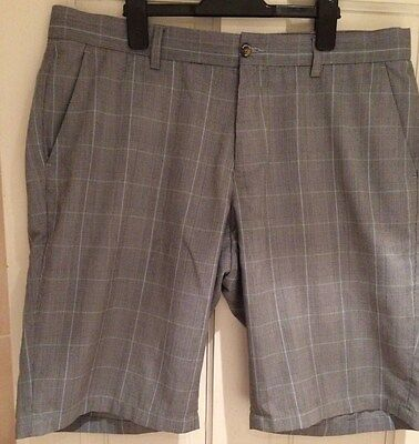 Dwyers & Co Checked Golf Shorts Size 38