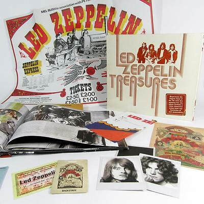 Led Zeppelin Treasures - Illustrated Book and Rare Memorabilia - By Chris Welch