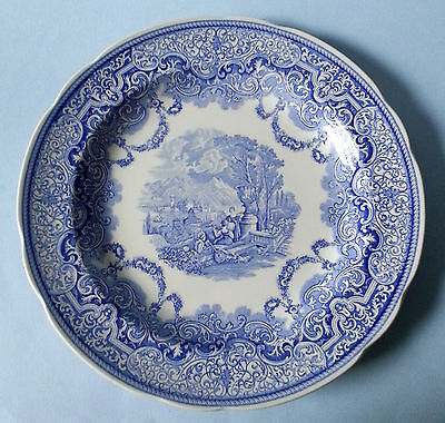 Spode Blue Room Collection Continental Views Plate