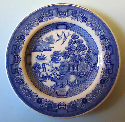Spode Blue Room Collection Georgian Series Willow Miniature Plate