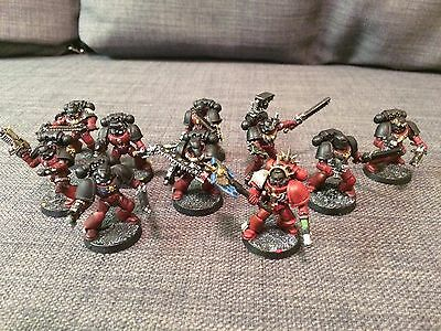 Warhammer 40k Blood Angels Tactical Squad with Assault Weaponry