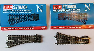 Peco Setrack St-5 & St-6 N Gauge Points