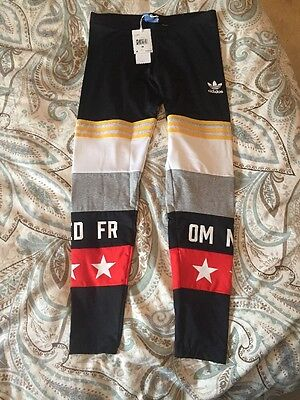 NWT RITA ORA BANNED FROM NORMAL ADIDAS LEGGINGS Avenue A SOLD OUT Size Medium M