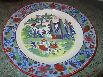 Antique Japanese/ Chinese hand painted plate