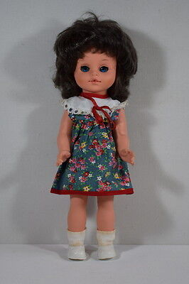 Small Vintage Doll With Original Clothing. 12 Inches