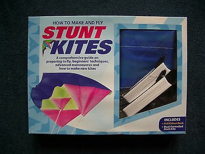 How To Make And Fly Stunt Kites. Includes Dual Control Kite & Book.