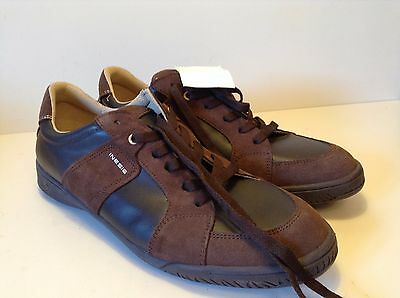 Mens Brown Leather Inesis Decathlon Shoes Boots UK 10.5/EU45/29cm NEW RRP £45
