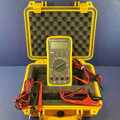 Fluke 787 Processmeter, GREAT Condition, Hard Case, More