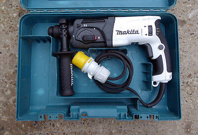 Used Makita HR2470, 3 Mode SDS Rotary Hammer Drill, 780 Watts, 110Volt
