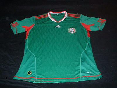 Mexico Mexican Soccer Football Large Mans Adidas Made Home Jersey