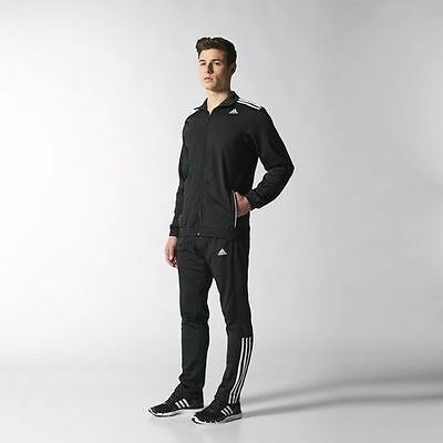 adidas TS Entry Track Suit (XL) Black S22636