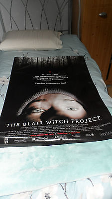 Vintage The Blair Witch Project Movie Poster 1999. Original Rare