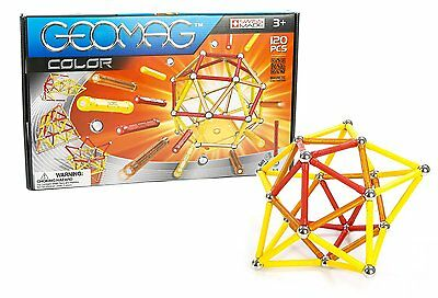 Geomag Color Magnetic Construction Set 120 Piece Building Toy Boys Create New
