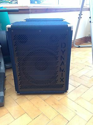 Dynamix PA Speakers 12 Inch With Horn 100watts