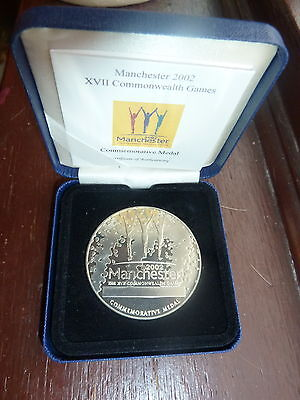 Official Commemorative / Participation Medal Manchester 2002 Commonwealth Games