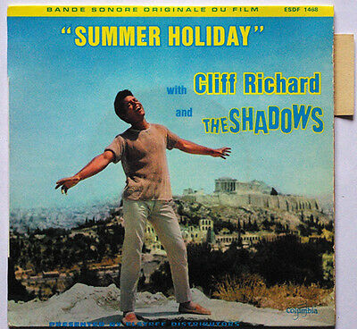 Cliff RICHARD and The SHADOWS French Ep Columbia 68 Summer Holiday OST