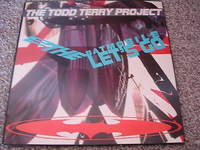 Todd Terry Project, The – To The Batmobile Let's Go LP    SBUKLP 2