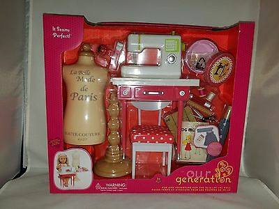 Our generation Doll Sewing Machine Accessories fits American Girl ISABELLE