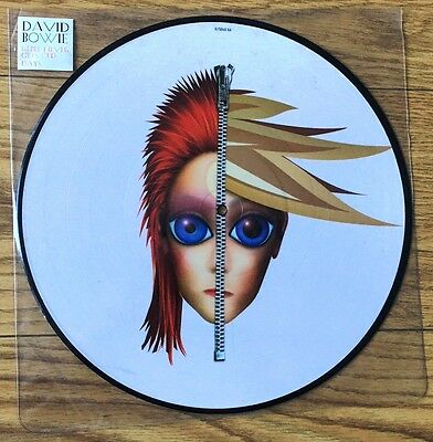 """David Bowie - Rebel Never Gets Old - 12"""" Picture Disc"""