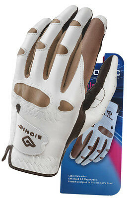 Bionic Golf Glove - Ladies Left Hand Stable Grip - Truffle - Size: LARGE