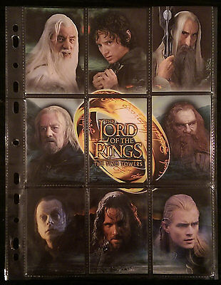 Lord of the Rings - The Two Towers (Topps Trading Cards) complete