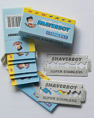 100 Double Edge Razor Blades From Shaverboy Canada