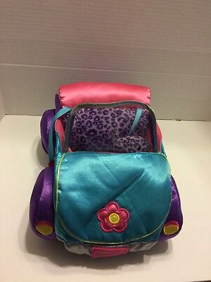 Groovy Girls Car Vehicle Automobile Manhattan Toy Purple Pink Blue Leopard Print