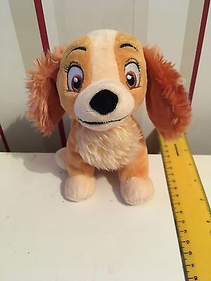 Small Disney Store Lady Soft Toy  Lady and The Tramp