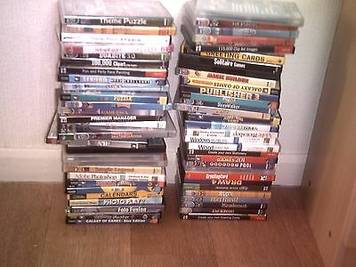 job lot  60 !!!  ONLY £1.50 for a game  !!!     PC CD- rom bundle